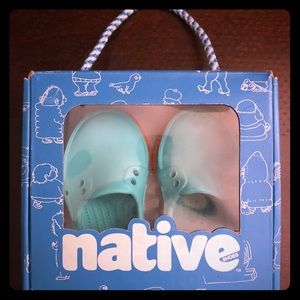 """Baby """"native"""" slip on shoes"""